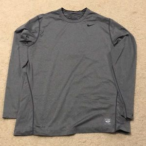 Grey Nike long sleeve